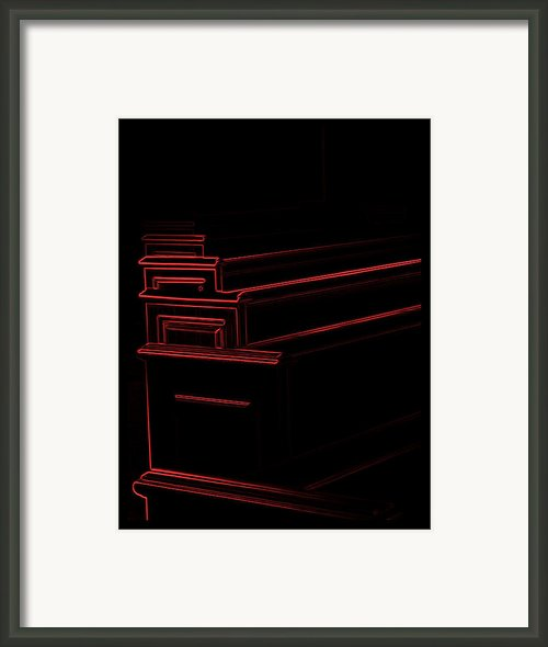 Heavy Church Framed Print By Wendy J St Christopher