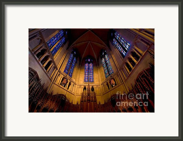 Heinz Memorial Chapel Pittsburgh Pennsylvania Framed Print By Amy Cicconi