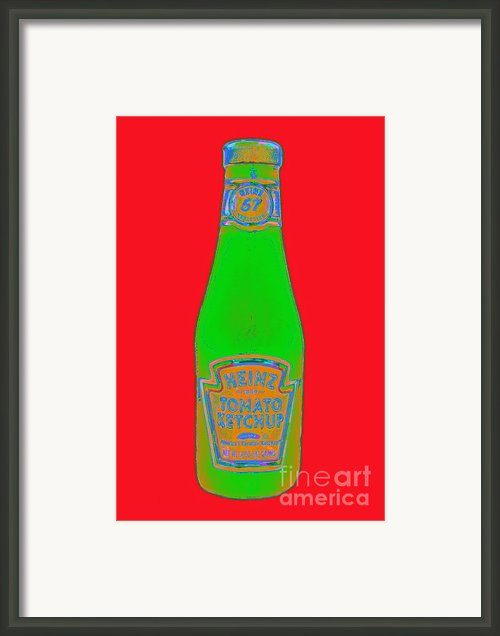 Heinz Tomato Ketchup 20130402 Framed Print By Wingsdomain Art And Photography