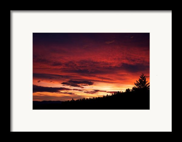 Hell Rising Framed Print By Kevin Bone