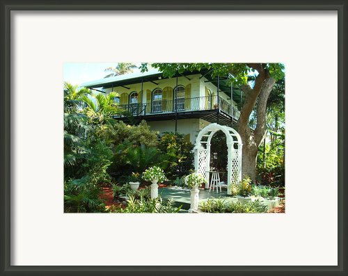 Hemingway House Framed Print By Kay Gilley