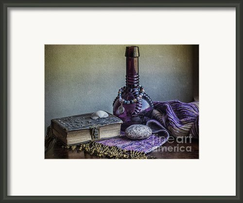 Her Favorite Things Framed Print By Terry Rowe