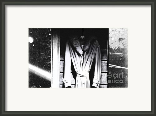 Her Space Robe Framed Print By Steven  Digman