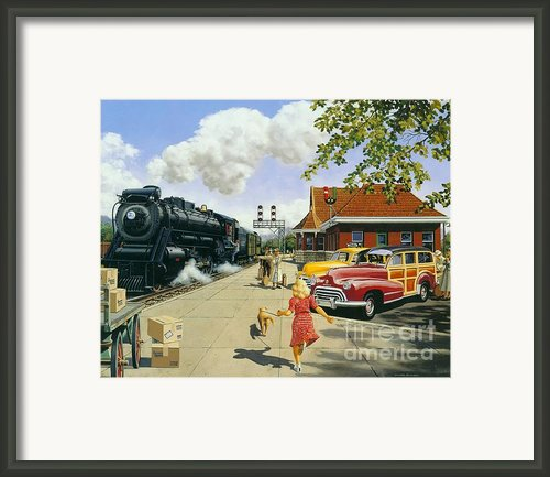 Here At Last Framed Print By Michael Swanson