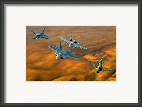 Heritage Flight Ii Framed Print By Dale Jackson