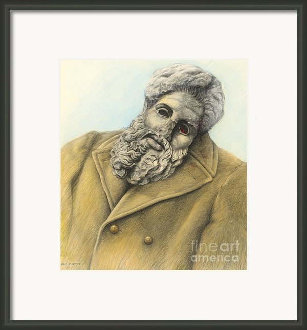Heroic And Elegiac Framed Print By Nikos Smyrnios