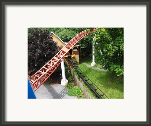 Hershey Park - Storm Runner Roller Coaster - 12121 Framed Print By Dc Photographer