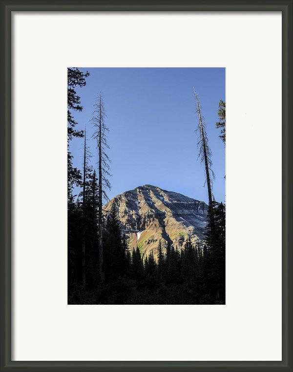 Hesperus Mountain Framed Print By Aaron Spong
