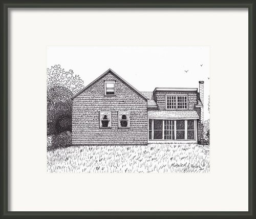 Hettinger Family Farm Framed Print By Michelle Welles