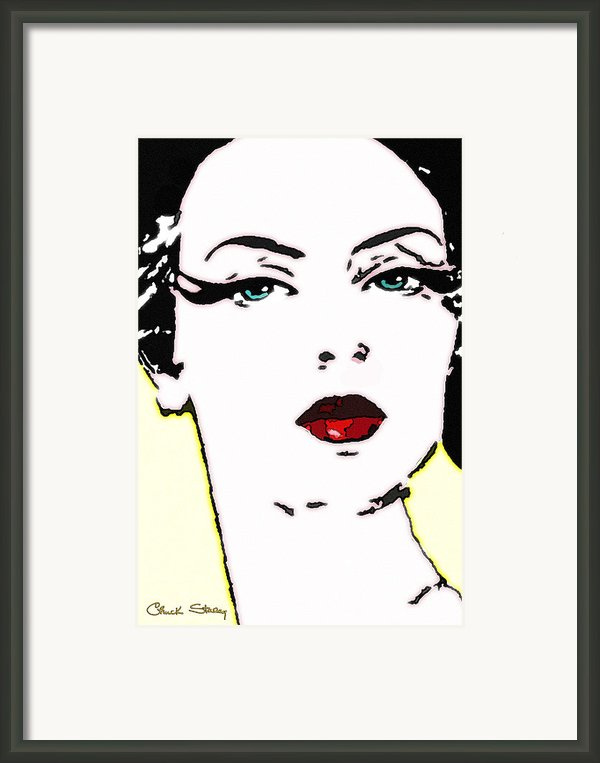 Hi Res Lady Framed Print By Chuck Staley