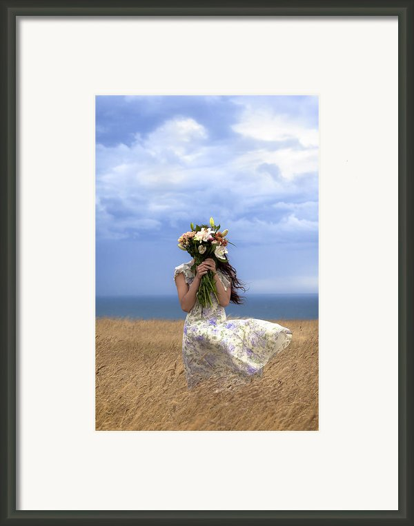 Hiding Framed Print By Joana Kruse