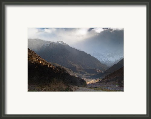 High Atlas Mountains Framed Print By Daniel Kocian