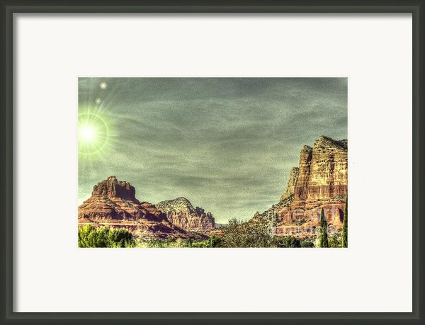 High Country Framed Print By Dan Stone