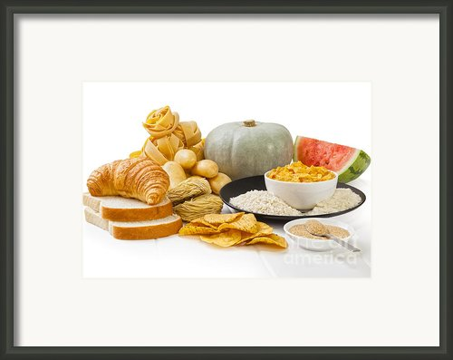 High Glycaemic Index Foods Framed Print By Colin And Linda Mckie