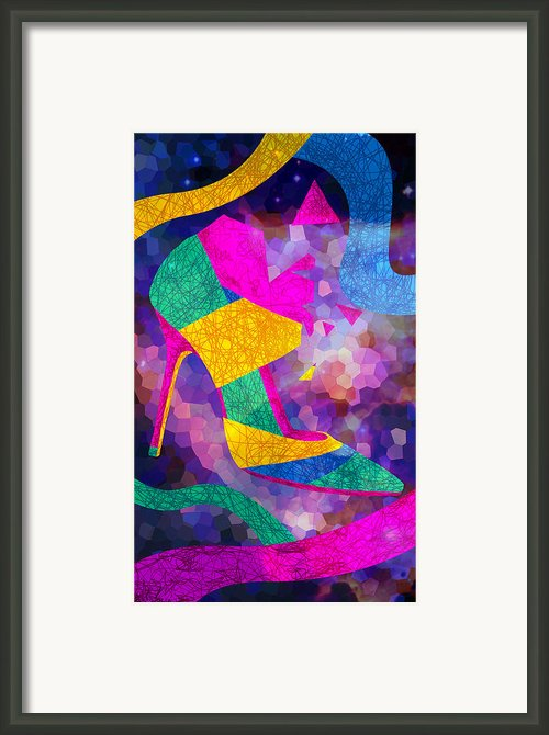 High Heels On Ropes Framed Print By Kenal Louis