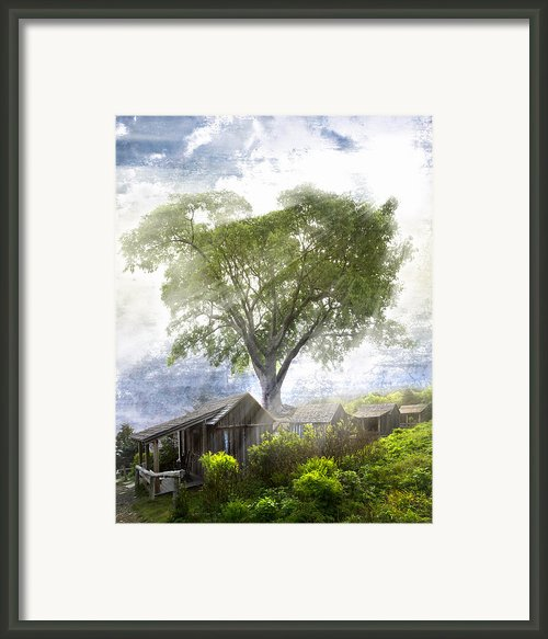 High In The Clouds Framed Print By Debra And Dave Vanderlaan