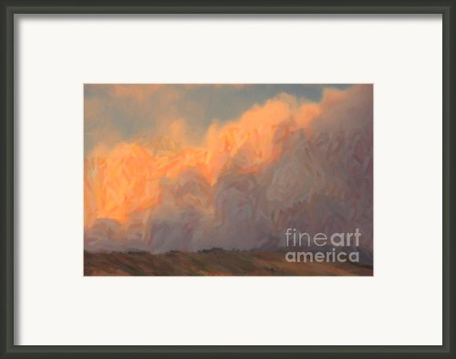 High Park Fire Framed Print By Jon Burch Photography