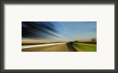 High Speed 2 Framed Print By Rabi Khan