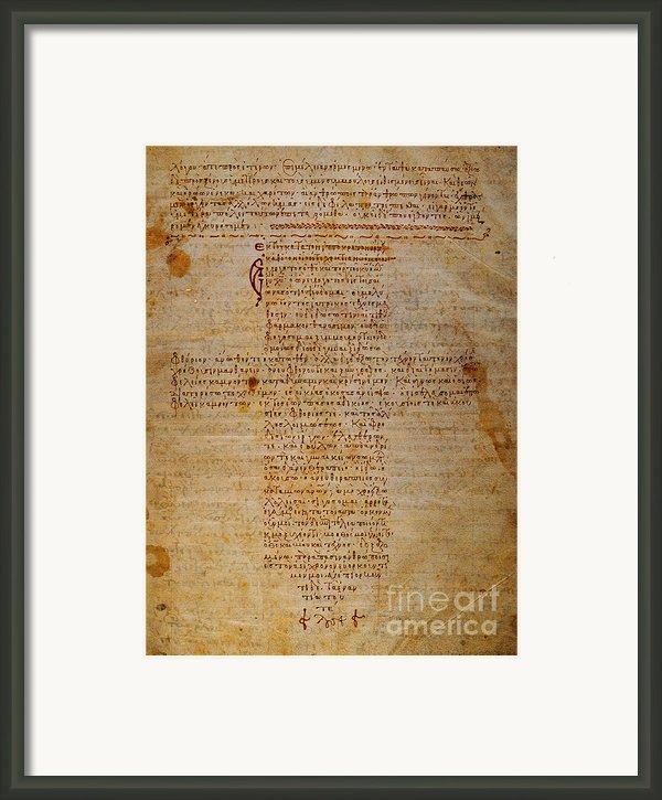 Hippocratic Oath Framed Print By Granger