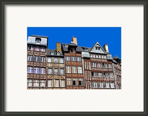 Historic Rennes Framed Print By Jane Rix