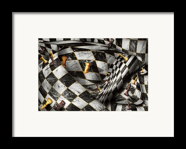 Hobby - Chess - Your Move Framed Print By Mike Savad