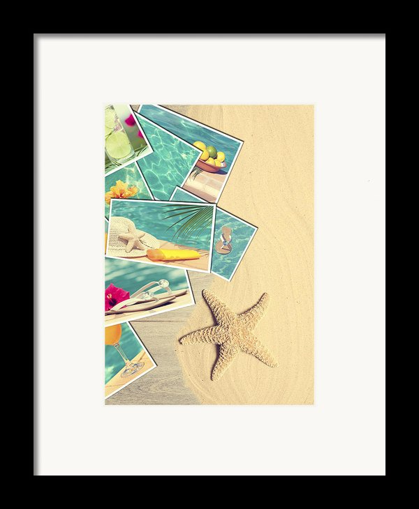 Holiday Postcards Framed Print By Amanda And Christopher Elwell