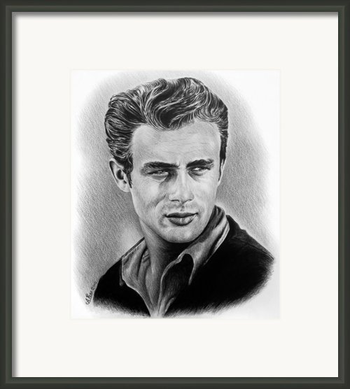 Hollywood Greats James Dean Framed Print By Andrew Read