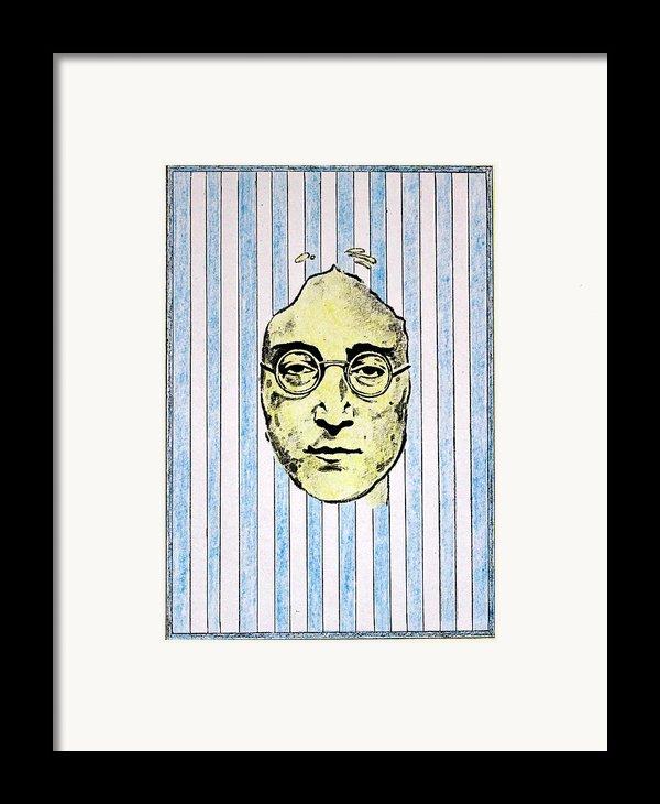 Homage To John Lennon  Framed Print By John  Nolan