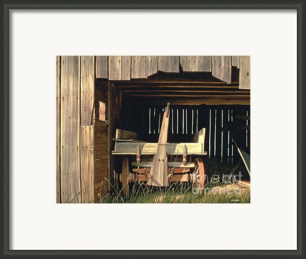 Home At Last Framed Print By Michael Swanson