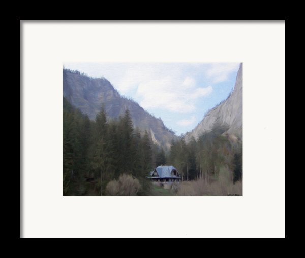 Home In The Mountains Framed Print By Jeff Kolker