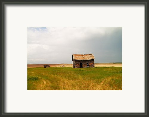 Home On The Range  Framed Print By Jeff  Swan