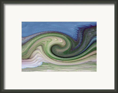 Home Planet - Gravity Well Framed Print By Bill Owen