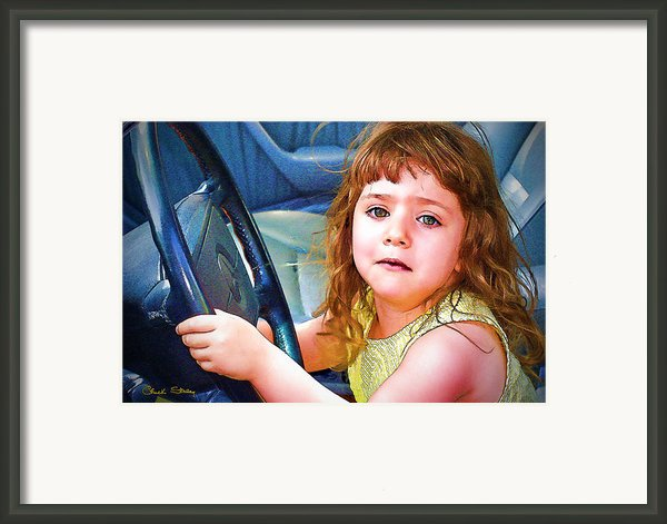 Honest Officer Framed Print By Chuck Staley