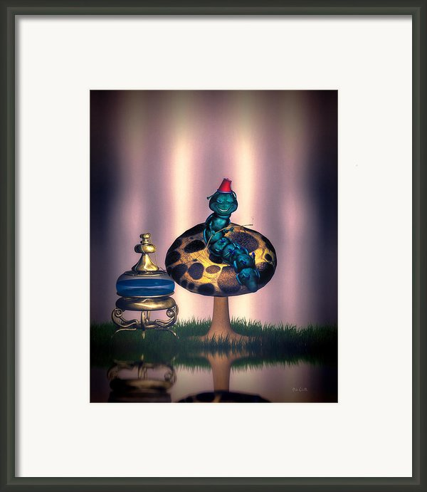 Hookah And The Magic Mushroom Framed Print By Bob Orsillo