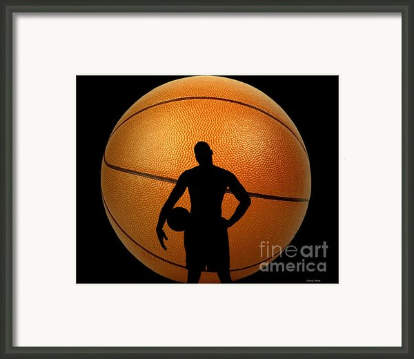 Hoop Dreams Framed Print By Cheryl Young