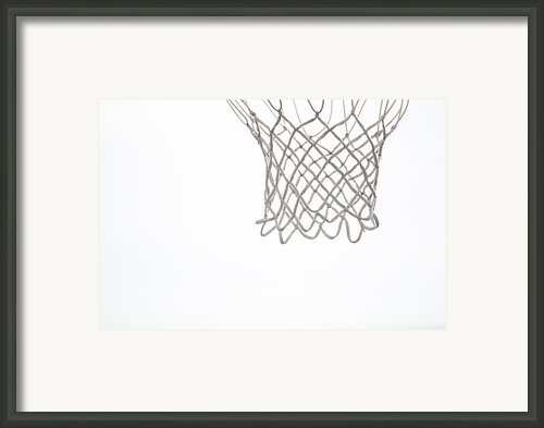 Hoops Framed Print By Karol  Livote