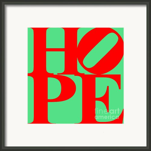 Hope 20130710 Red Green Framed Print By Wingsdomain Art And Photography