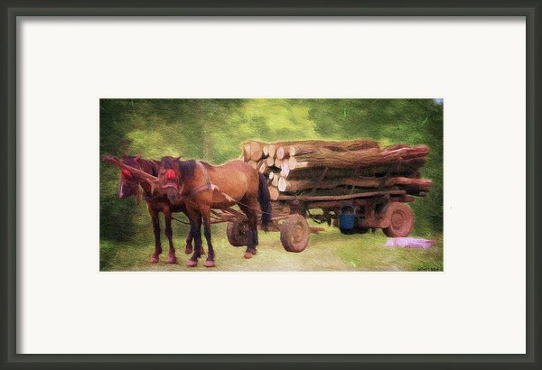 Horsepower Framed Print By Jeff Kolker