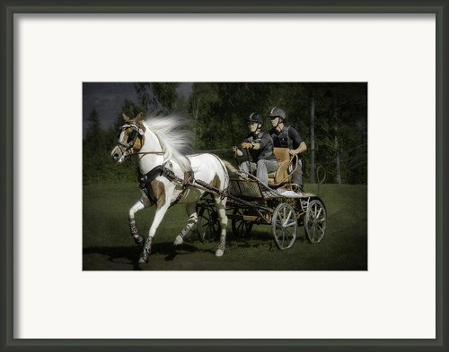 Horsepower Part I Framed Print By Erik Brede