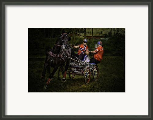 Horsepower Part Iii Framed Print By Erik Brede