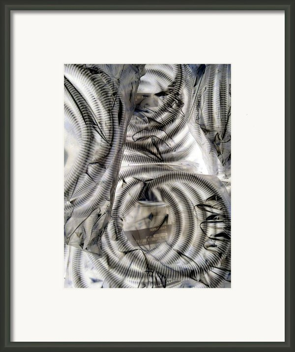 Hose And Plastic Framed Print By Dietrich Ralph  Katz