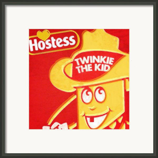 Hostess Twinkie The Kid Framed Print By Tony Rubino