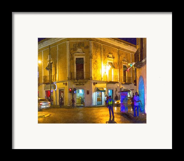 Hot Nights In The Yucatan Framed Print By Mark Tisdale