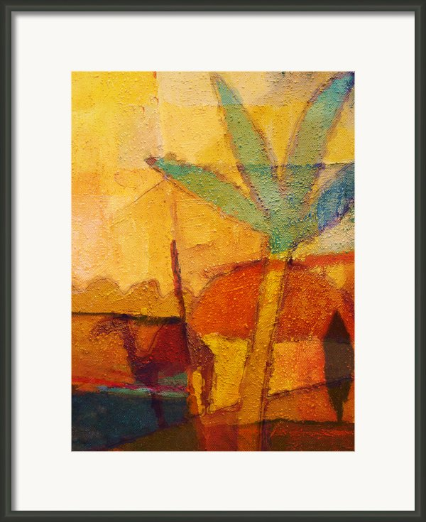 Hot Sun Framed Print By Lutz Baar