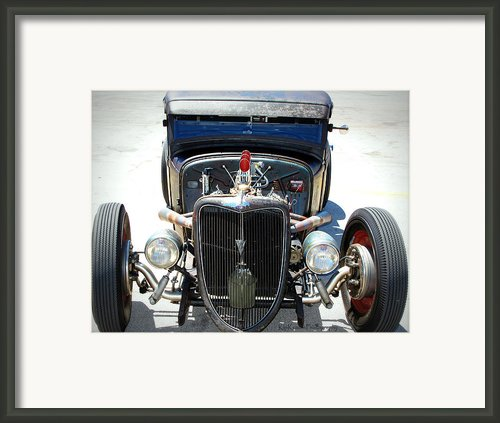 Hotrod Thunder Framed Print By Kip Krause