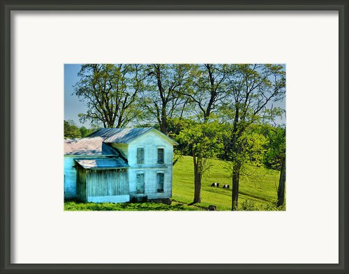 House Of The Oreos Framed Print By Emily Stauring
