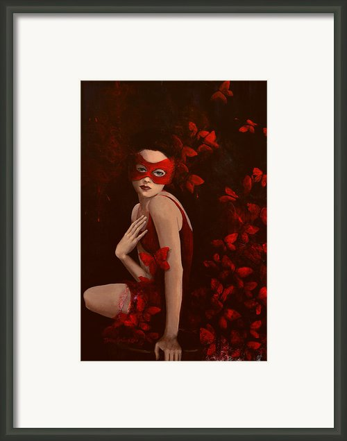 How Long Do Butterflies Live Framed Print By Dorina  Costras