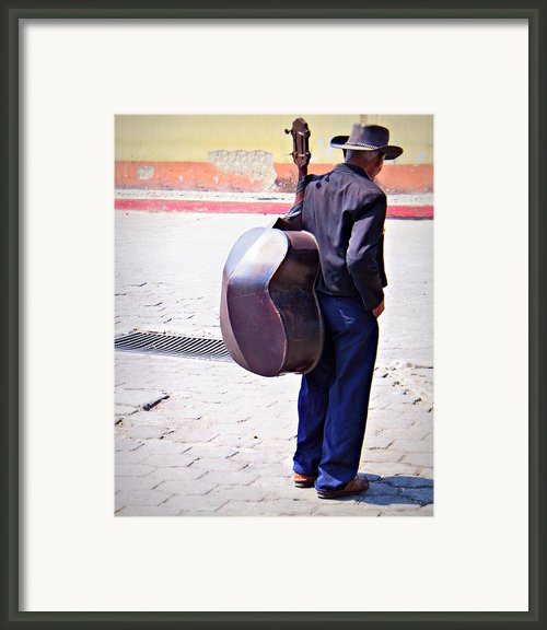 Human Kindness Is Overflowing Framed Print By Ramon Fernandez