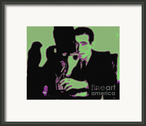Humphrey Bogart And The Maltese Falcon 20130323 Framed Print By Wingsdomain Art And Photography