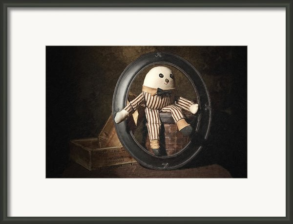 Humpty Dumpty Framed Print By Tom Mc Nemar